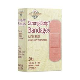 "Strong Strip Bandages 1"" x 3.25"""