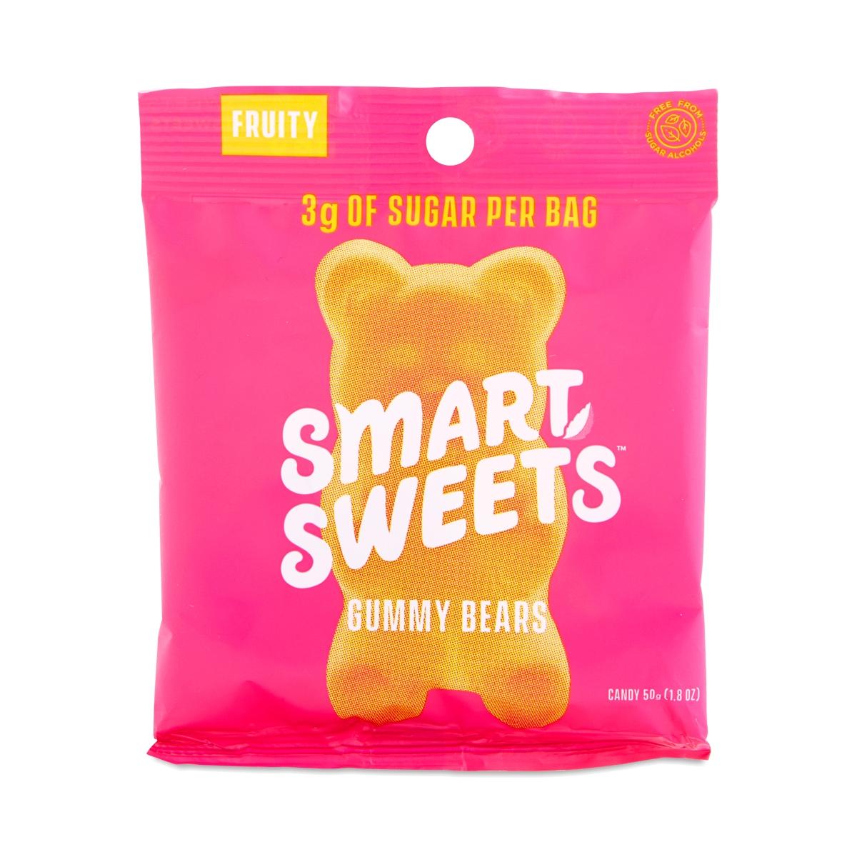 SmartSweets Fruity Gummy Bears 1.8 oz bag