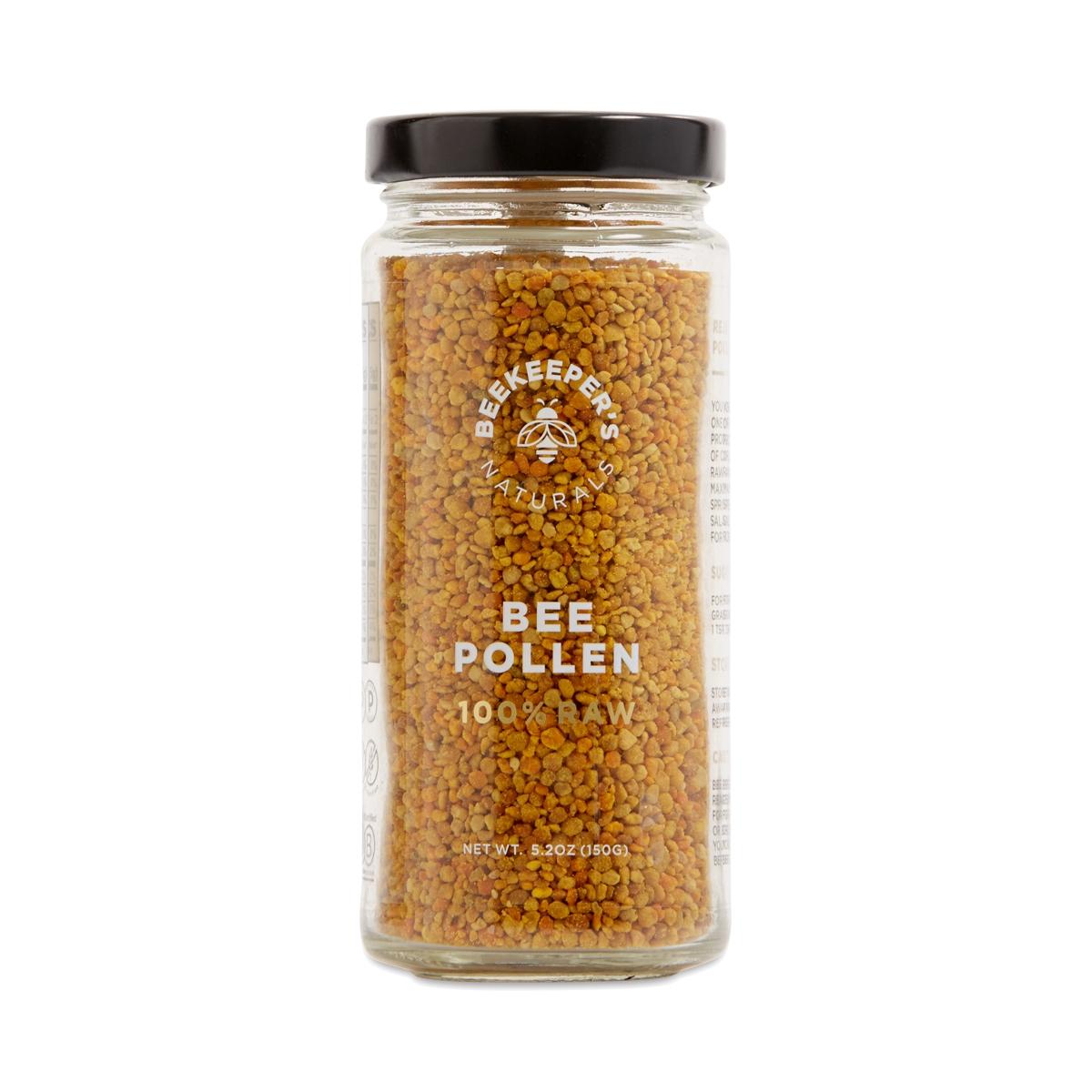 Better Smoothie with Beekeeper's Naturals 100% Raw Bee Pollen 150g jar