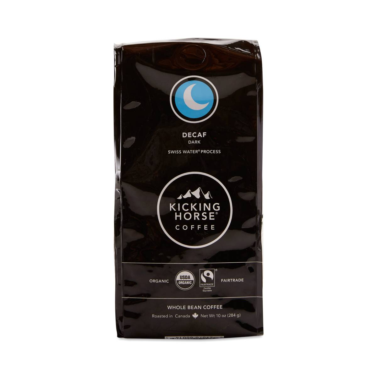 Organic Dark Decaf Whole Bean Coffee By Kicking Horse