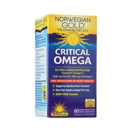 Norwegian Gold Critical Omega 3 Fish Oil DHA