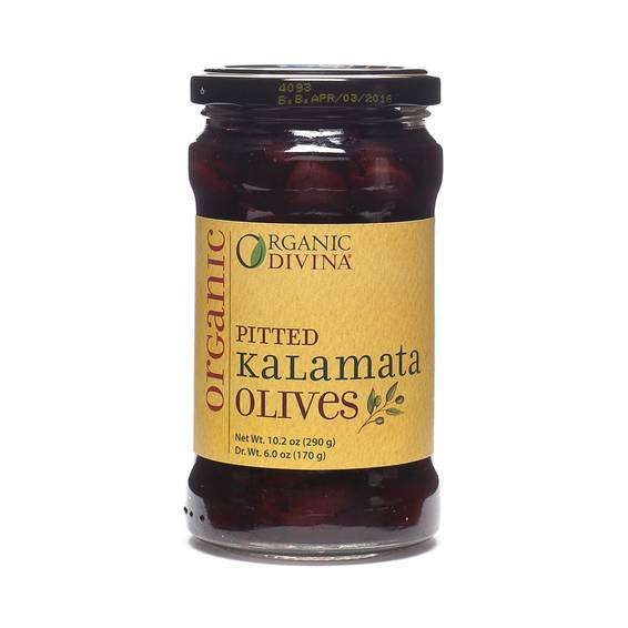 Organic Kalamata Olives Pitted