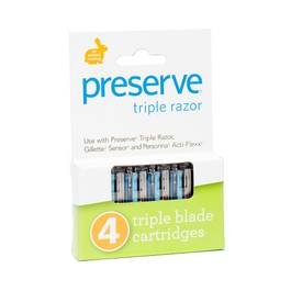 Triple Razor System - Replacement Blades