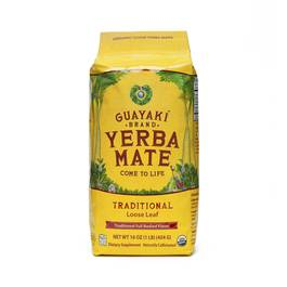 Fair Trade Organic Loose Leaf Yerba Mate