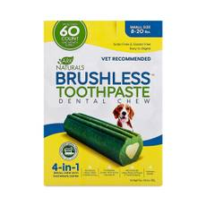Brushless Toothpaste Dental Chew, Small 8-20 lbs