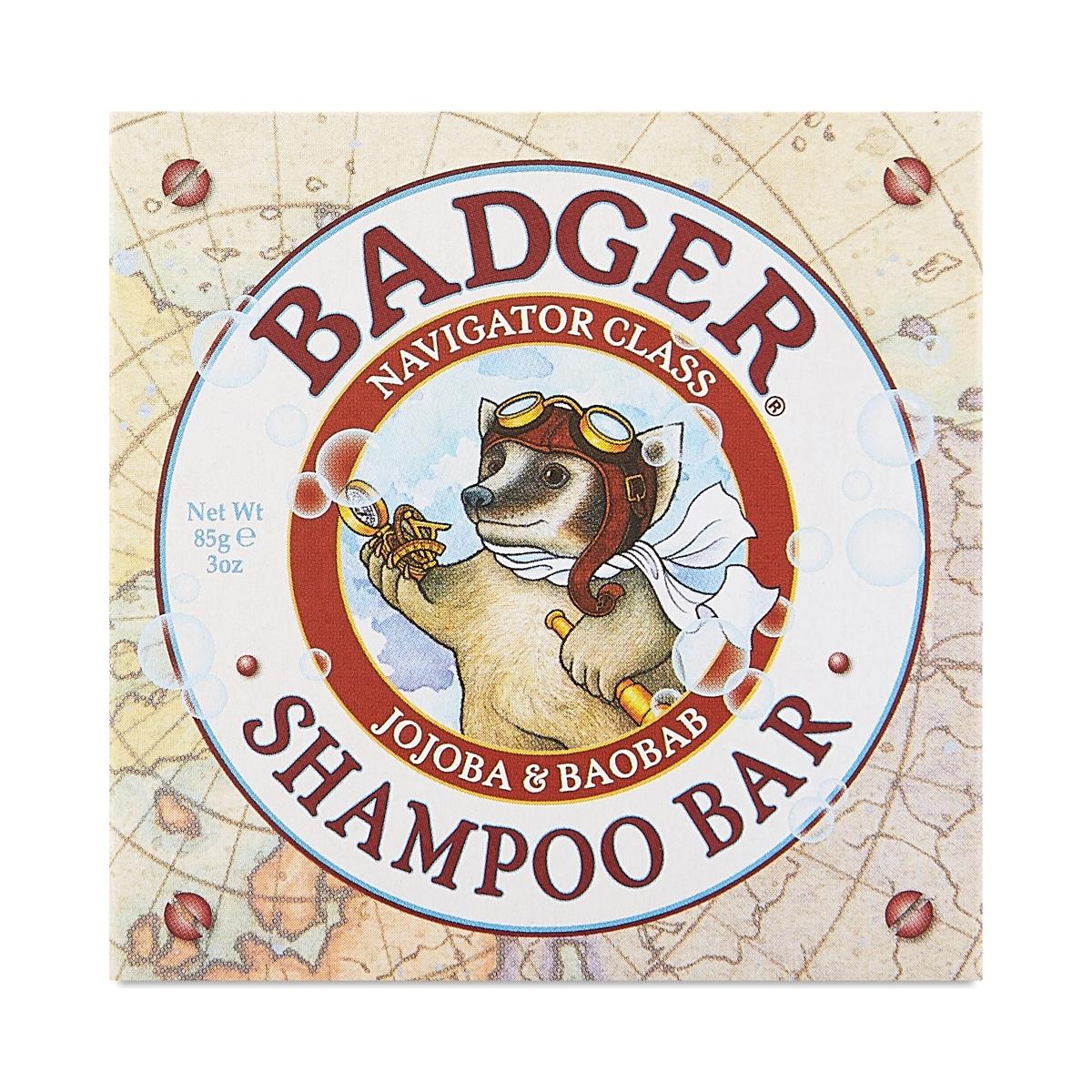 Badger Shampoo Bar 3 oz bar