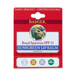 Sunscreen Lip Balm, SPF 15