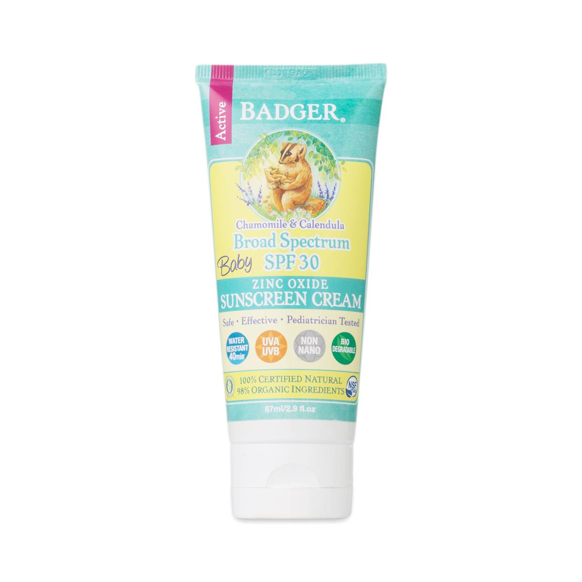 Spf 30 Baby Sunscreen By Badger Thrive Market
