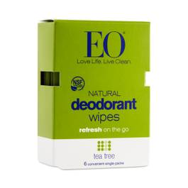 Tea Tree Deodorant Wipes