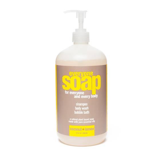 Coconut Lemon Bath and Shower Gel
