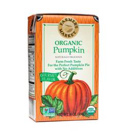 Organic Pumpkin Puree