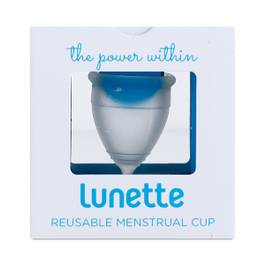 Clear Menstrual Cup, Model 1