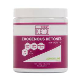 Exogenous Ketones with Electrolytes - Lemon Lime