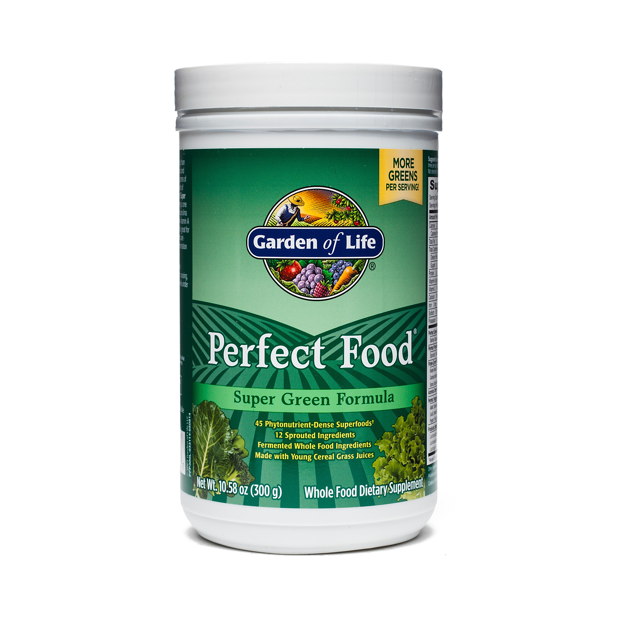 super formula of garden pr g perfect life food oz original green