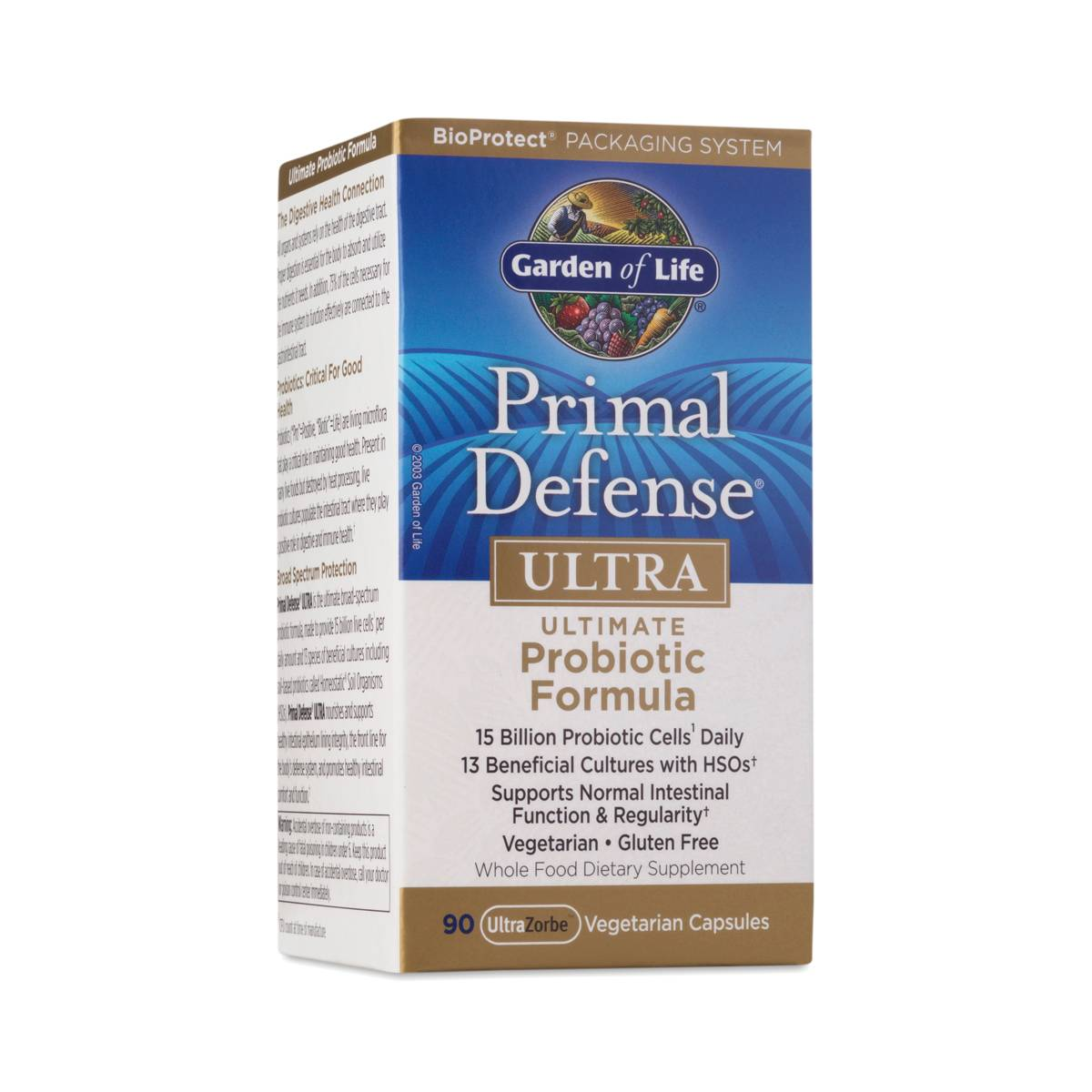 Garden Of Life Primal Defense Ultra Probiotics Garden Ftempo