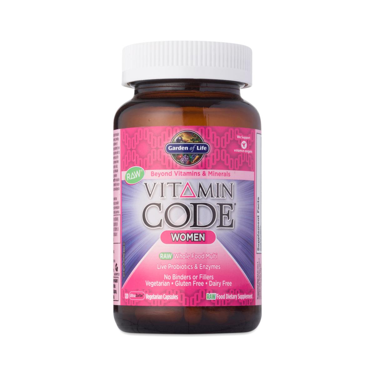 Vitamin Code Women 39 S Multivitamin By Garden Of Life Thrive Market