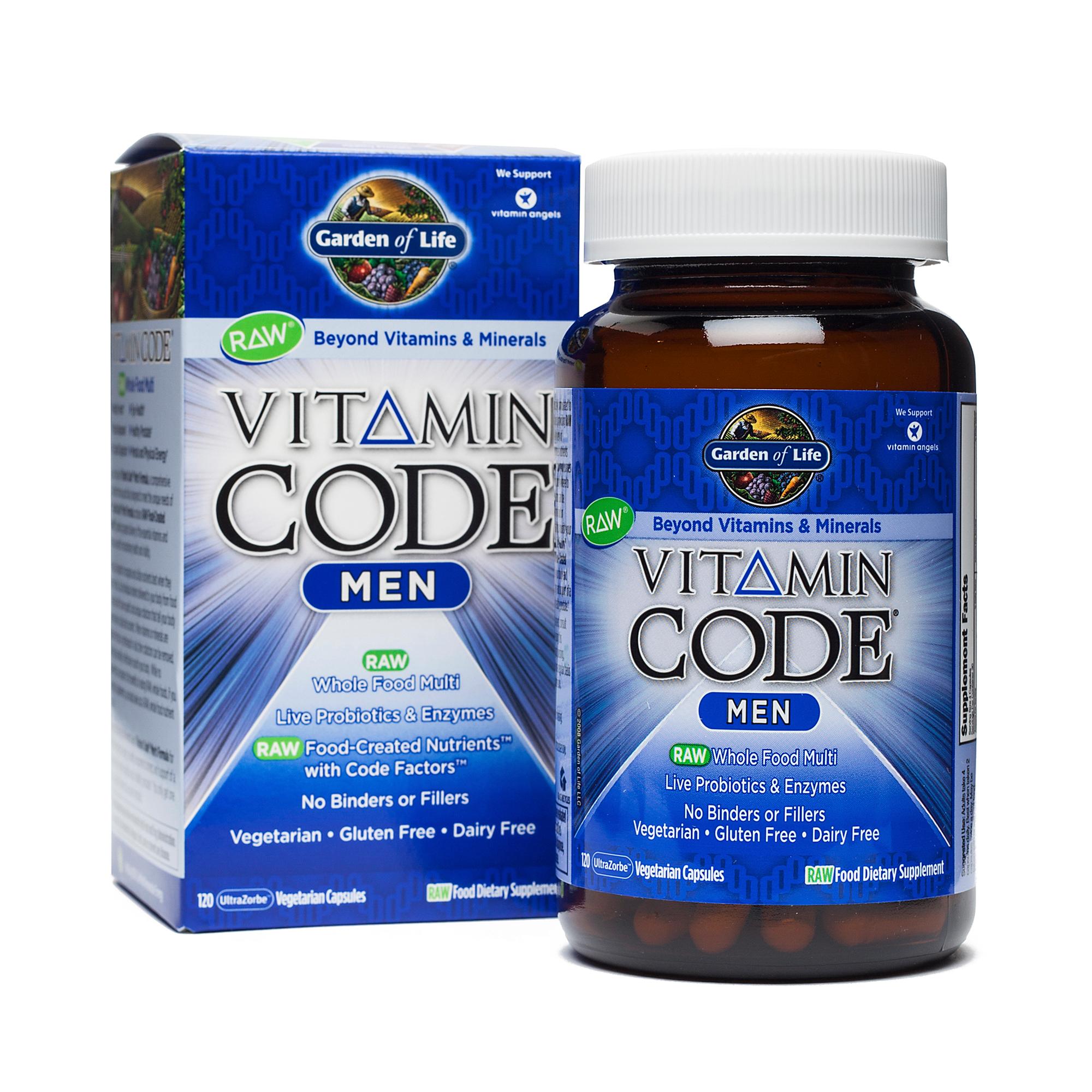 Vitamin Code Men 39 S Multivitamin Thrive Market