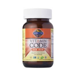 Vitamin Code Raw Iron Supplement