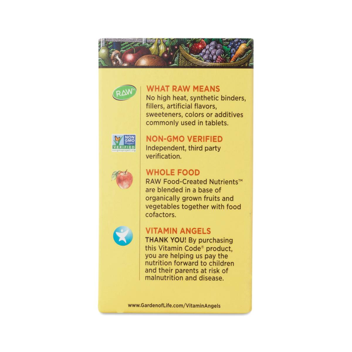 Menu For Olive Garden: Vitamin Code Raw Iron Supplement By Garden Of Life