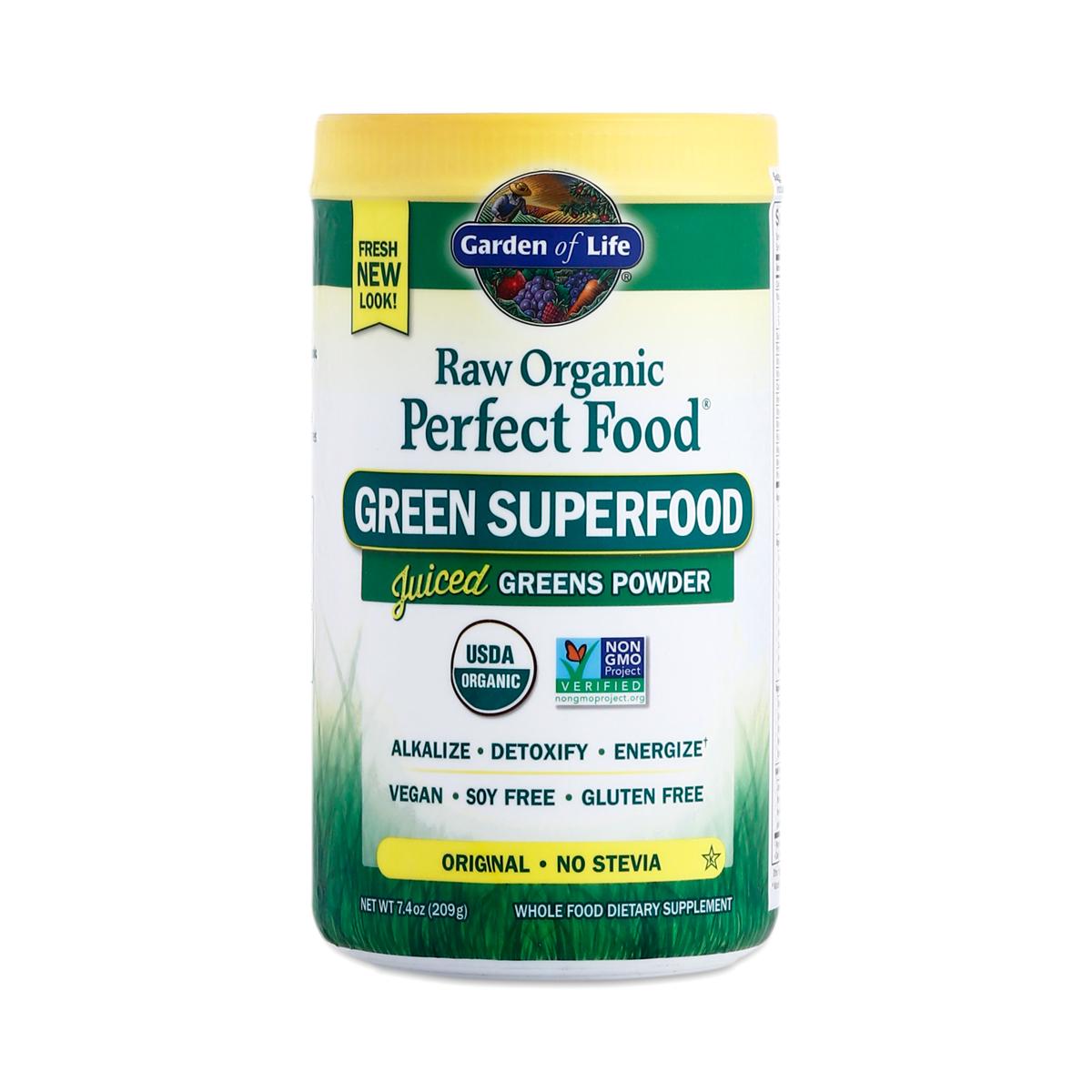 Raw food powder