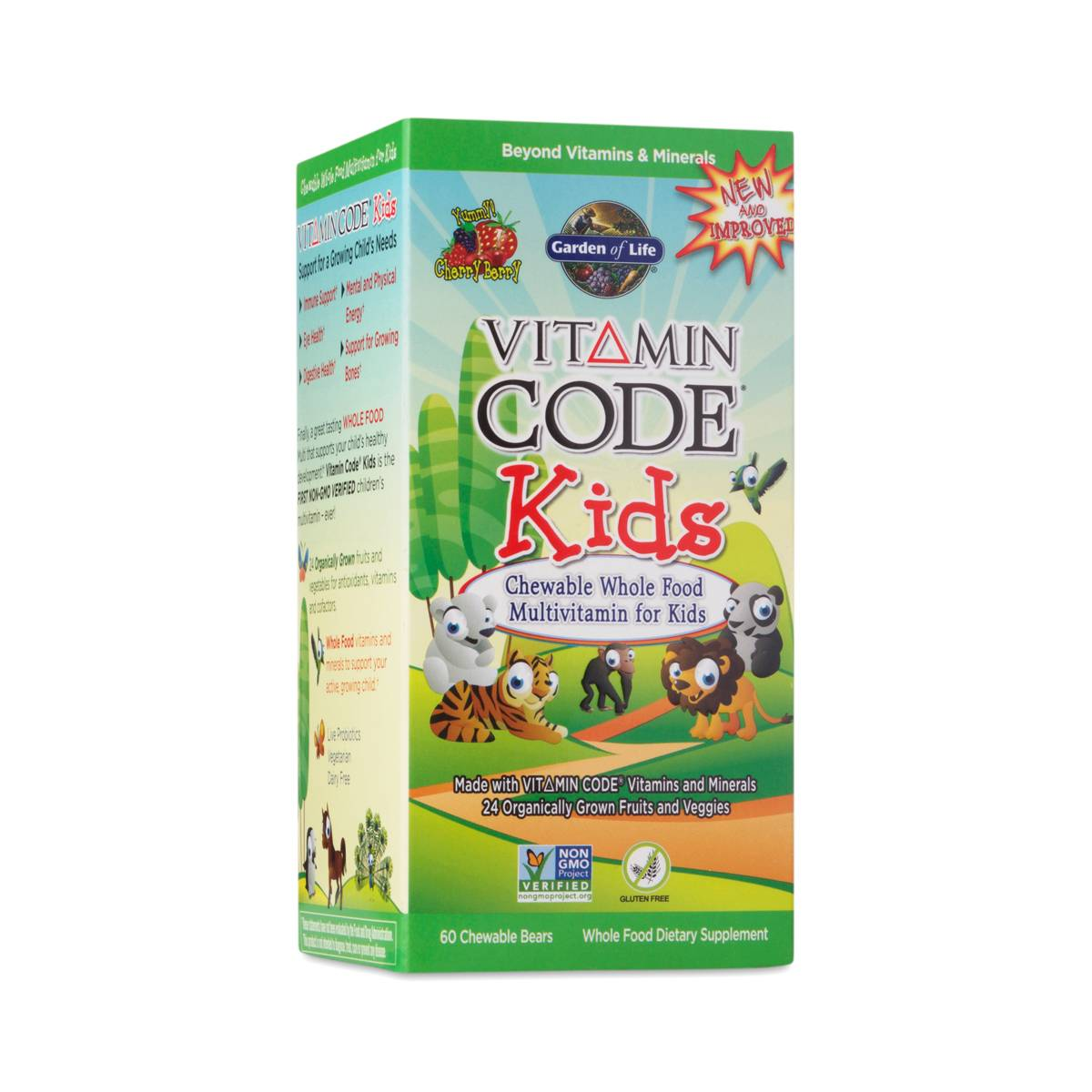 Vitamin code kid 39 s multivitamin by garden of life thrive - Garden of life vitamin code kids ...