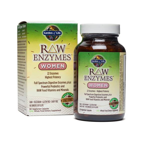 Raw Enzymes for Women