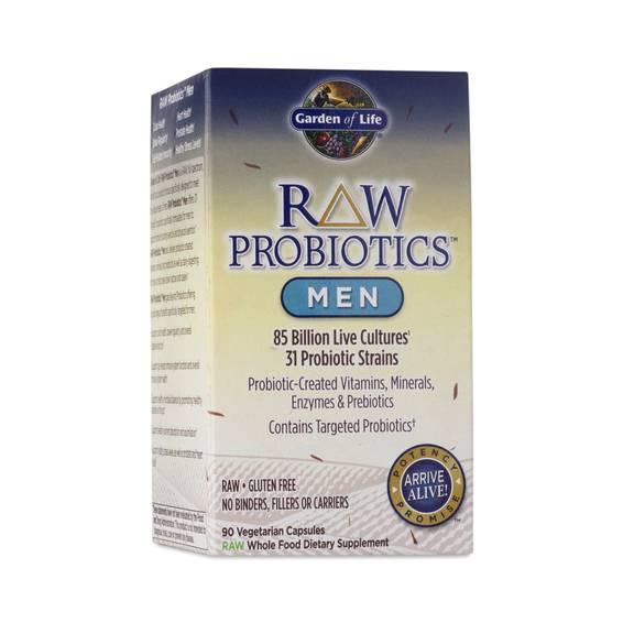 Raw Probiotics For Men By Garden Of Life Thrive Market