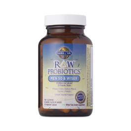 Raw Probiotics for Men 50 & Wiser
