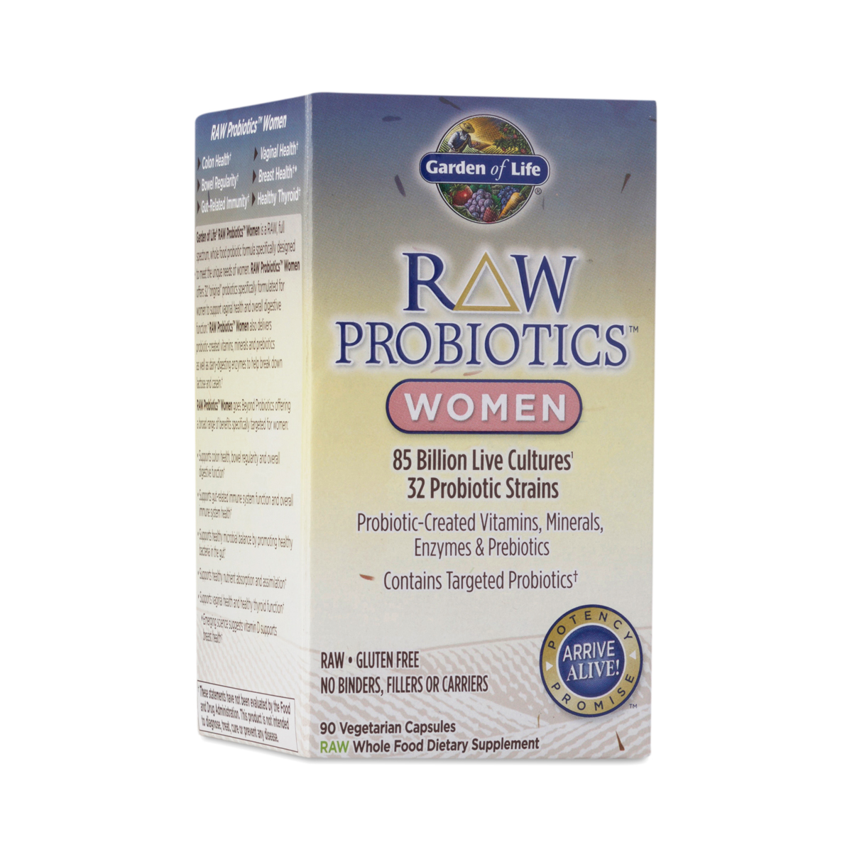 Raw Probiotics For Women By Garden Of Life Thrive Market