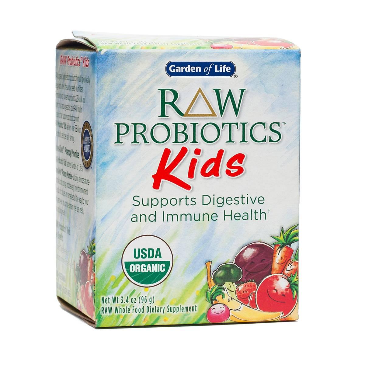 Raw Probiotics Kids By Garden Of Life Thrive Market