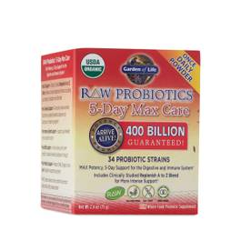 Raw Probiotics 5-Day Max Care