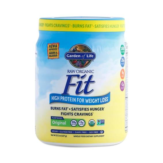 Raw Fit Protein Powder By Garden Of Life Thrive Market