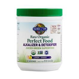 Raw Perfect Food Alkalizer & Detoxifier, Lemon Ginger