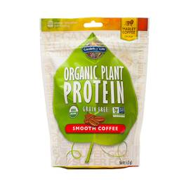 Organic Plant Based Protein Powder, Coffee