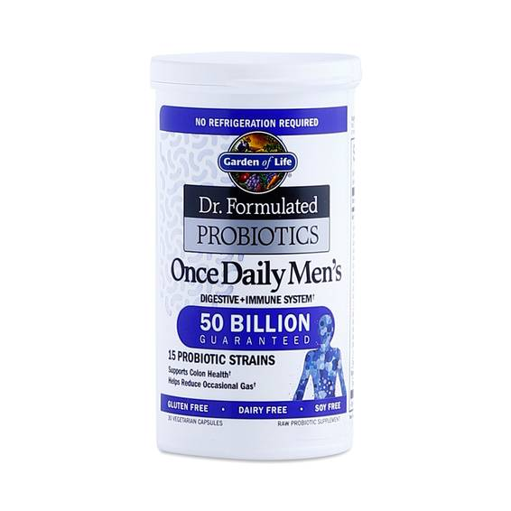 Once Daily Men 39 S Probiotic By Garden Of Life Thrive Market