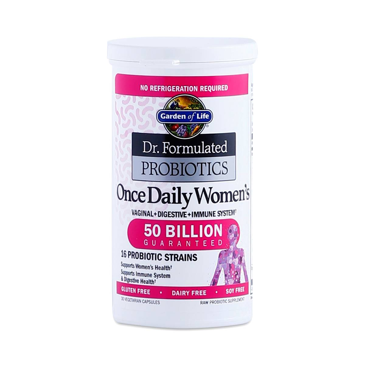 Once Daily Women 39 S Probiotic By Garden Of Life Thrive Market