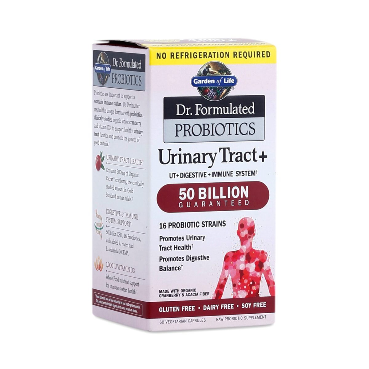 urinary tract probiotics by garden of life thrive market