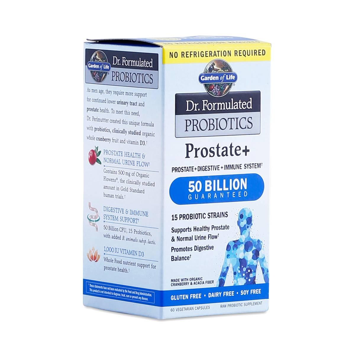 Prostate Probiotics By Garden Of Life Thrive Market