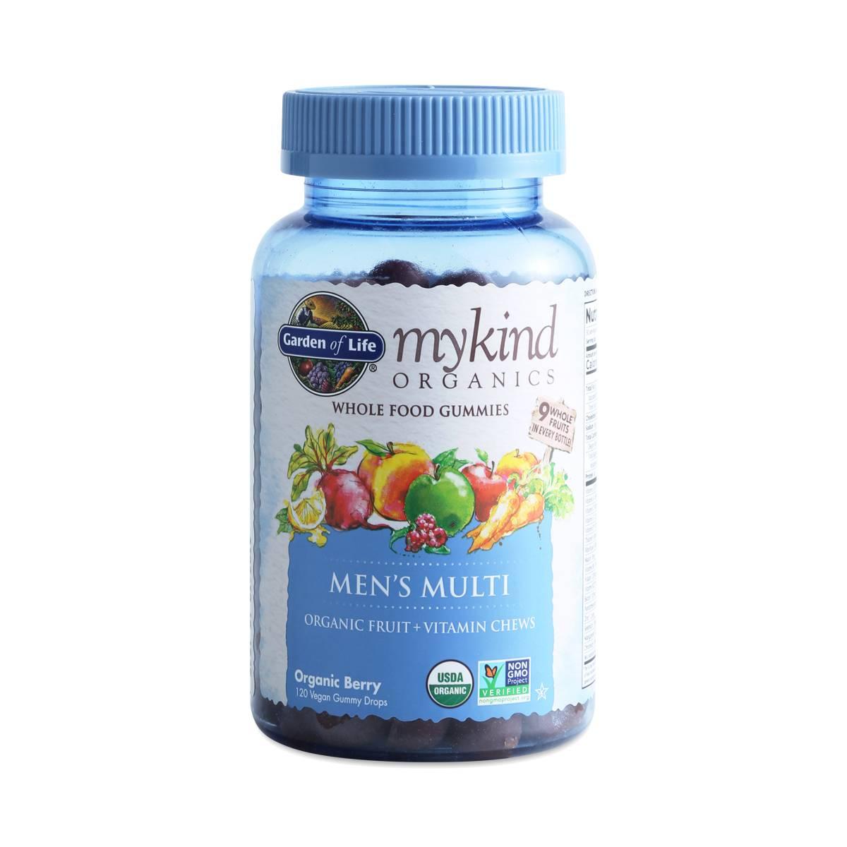 Mykind organics men 39 s gummy multivitamin berry thrive - Garden of life multivitamin for men ...