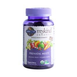 Mykind Organics Prenatal Gummy Multivitamin, Berry