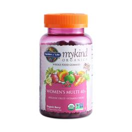 Mykind Organics Women's 40+ Gummy Multivitamin, Berry