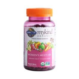 Mykind Organics Women's 40+ Gummy Multivitamin, Berry