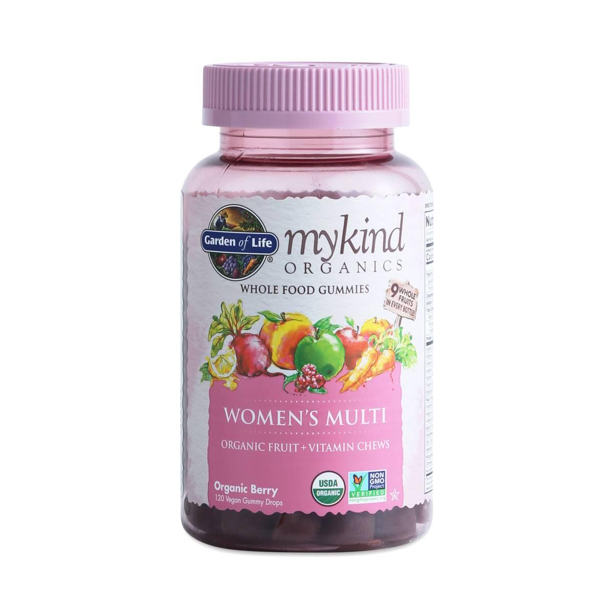 Garden Of Life Mykind Organics Whole Food Gummies