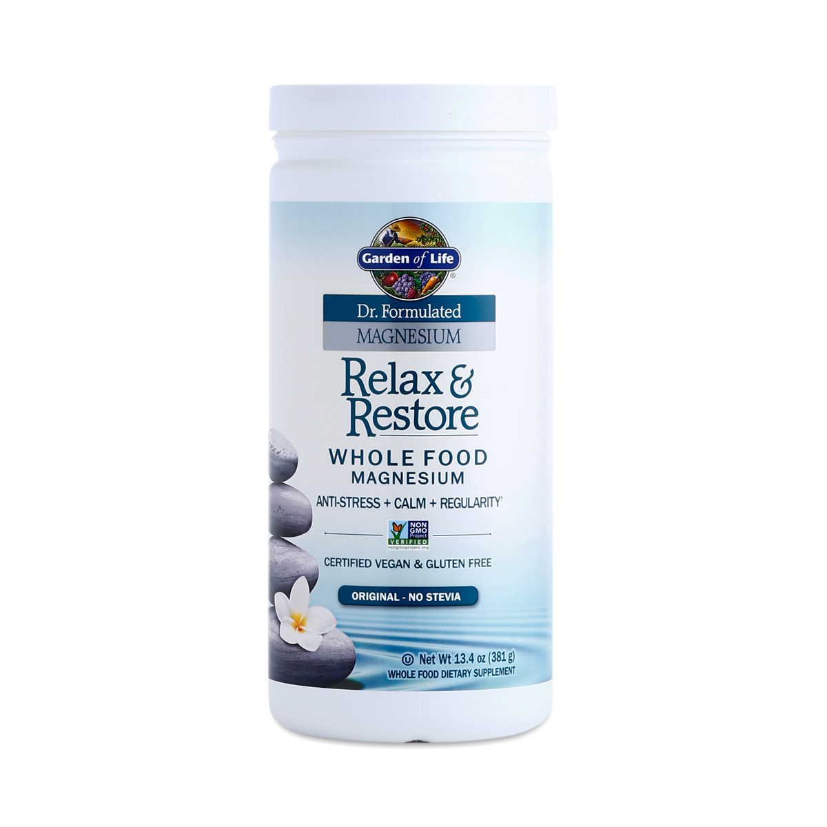 Magnesium relax restore supplement drink thrive market for Garden of life relax and restore