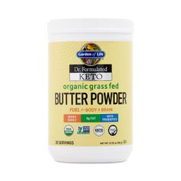 Dr. Formulated Keto Organic Grass Fed Butter Powder