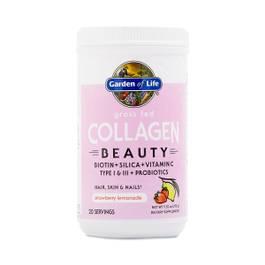 Grass Fed Collagen Beauty, Strawberry Lemonade