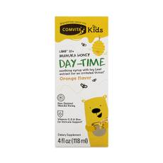 Kids Day-Time Soothing Syrup UMF 10+ Manuka Honey, Orange