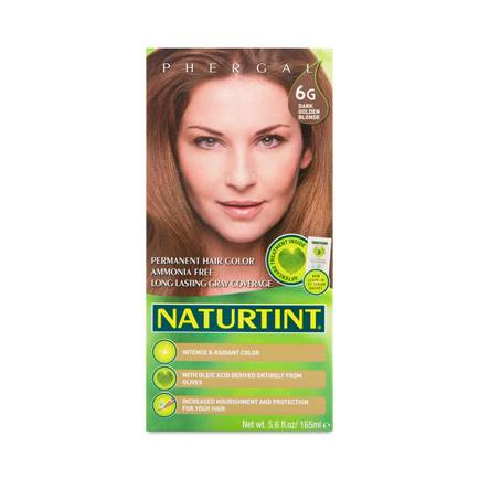 Dark Golden Blonde 6G Permanent Hair Color by Naturtint - Thrive Market 3484d6fdd9