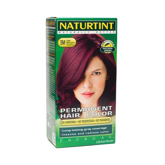 Permanent Hair Color - Light Mahogany Chestnut 5M