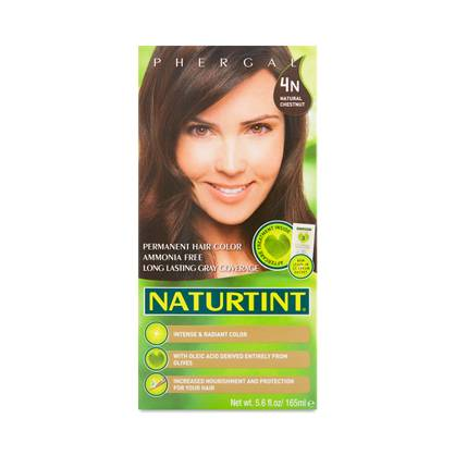 Natural Chestnut 4N Permanent Hair Color - Thrive Market